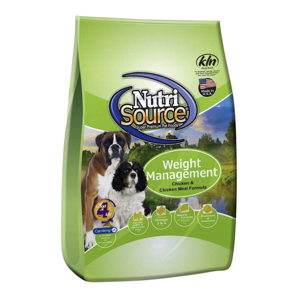 Nutrisource Weight Management Dog Food, 18 Pound