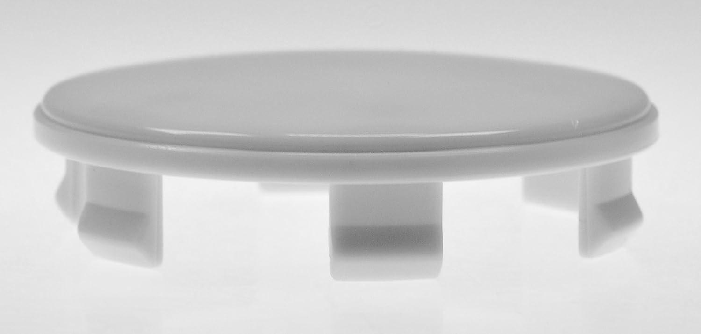 CRK 4X 60 mm Nabenkappen Felgen Deckel Radnaben Kappen Grau f/ür Brock RC Design Platin