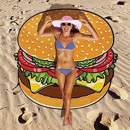 Das Leben Toalla de playa - Beach Blanket - Bufanda de la playa (buñuelo)