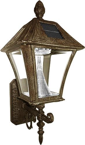 Gama Sonic Baytown Solar Outdoor LED Light Fixture