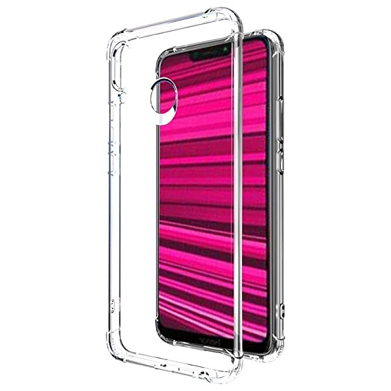 new product 6651c dbb00 Amazon Brand - Solimo Mobile Cover (Soft & Flexible Back case) for Honor  Play (Transparent)