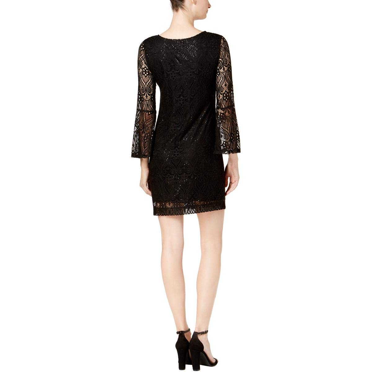 f947bef3f14 Petite Black Lace Cocktail Dress - Data Dynamic AG