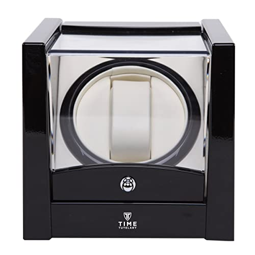 Time Tutelary Automatic Single Watch Winder Black Gloss KA079