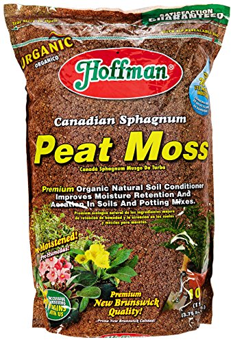 Hoffman 15503 Canadian Sphagnum Peat Moss, 10 Quarts from Hoffman
