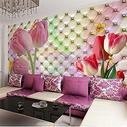 Sproud Photo Wallpaper Large Mural 3d Stereo Romantic Wedding Room