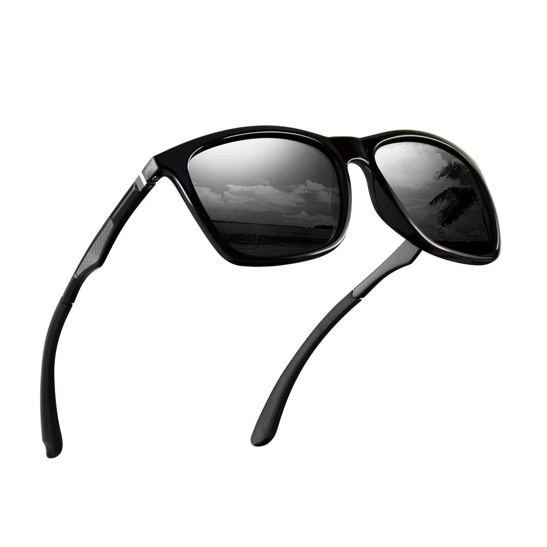 Polarized Sunglasses for Men Aluminum Mens Sunglasses Driving Rectangular Sun Glasses For Men/Women by monrich