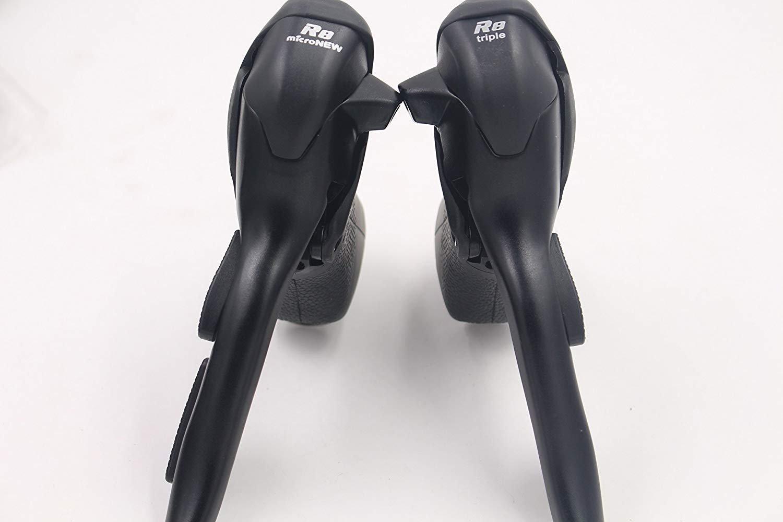 micronewデュアルコントロールレバーsb-r483 3 x 8スピードトリップShiftersロード自転車Derailleur互換for Shimano B078NSTQ8N