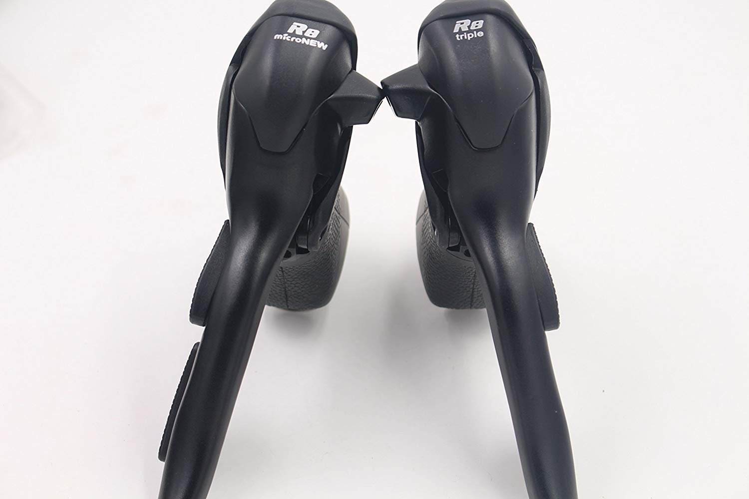 MicroNEW Shifter Dual Control Levers SB-R483 3 x 8 Speed Trip Shifters Road Bicycle Derailleur Compatible for Shimano STI Lever Set