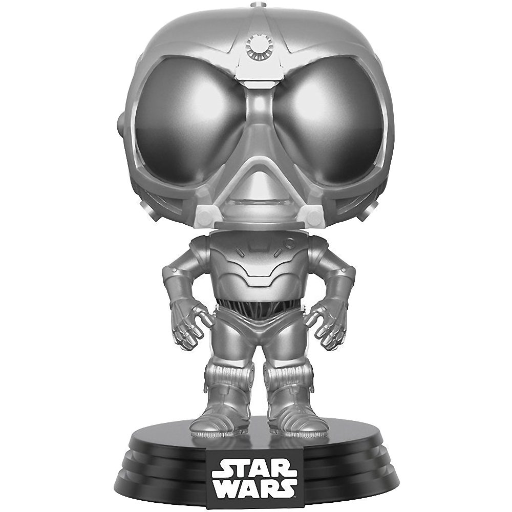 POP BCC94448E Funko Death Star Droid 2017 Fall Con Exclusive 14876 x Star Wars Rogue One Vinyl Figure 1 Official Star Wars Trading Card Bundle White