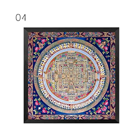 Ornamento de la mandala Thangka Yoga lienzo pintura patrón ...