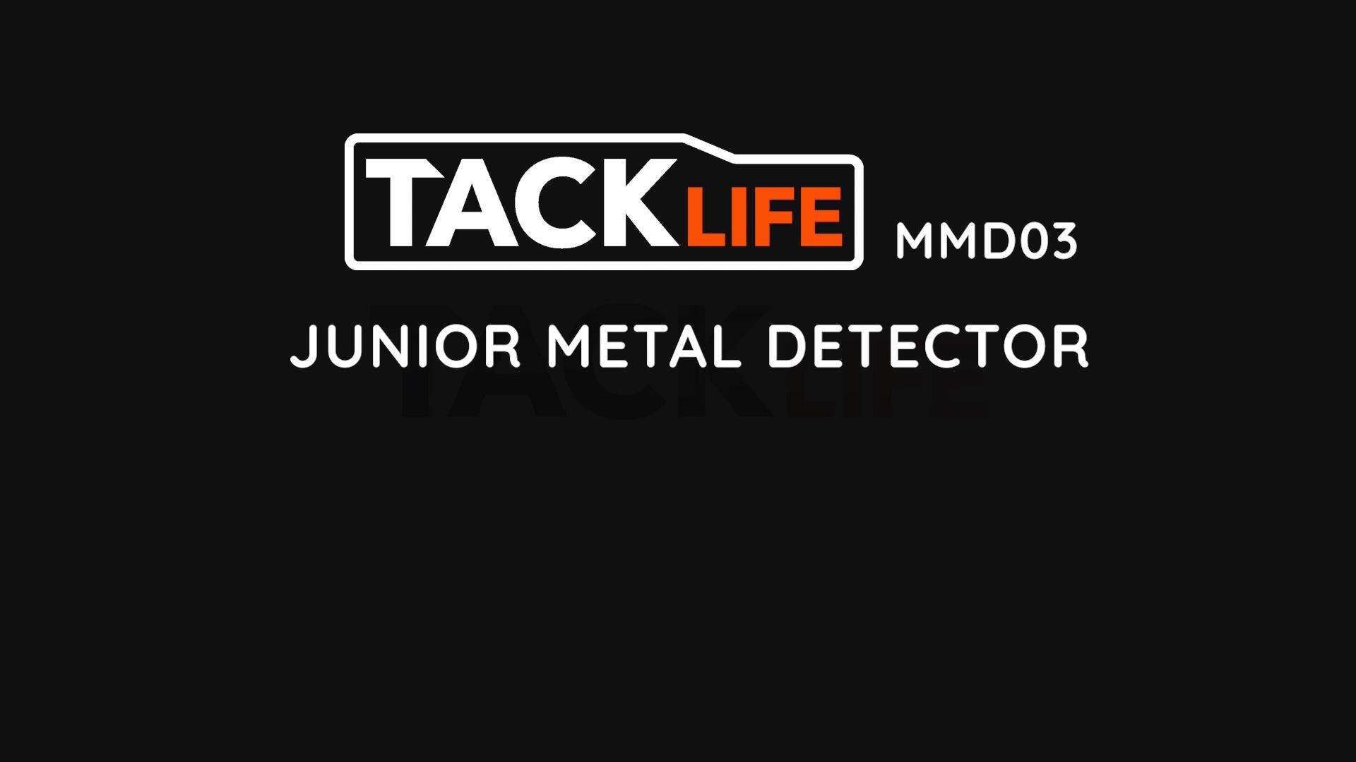 Indicador de Bater/ía Baja Ajuste de Altitud Alta Precisi/ón Detector de Metales 2 Modos de Metal y Disco Pantalla retroiluminada TACKLIFE-MMD03-Detector B/ásico Impermeable