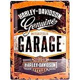 Nostalgic-Art 23188 Harley-Davidson Garage, Blechschild, 30 x 40 cm