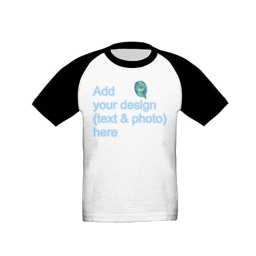 Amazon Short Sleeve T Shirt For Children Custom Personalized T