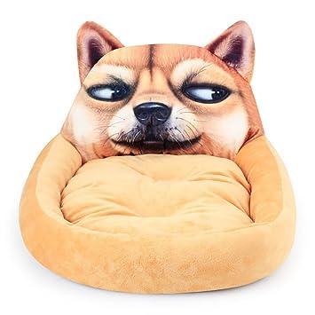 Limiz Nido de Mascotas, algodón Grueso y Suave Nido de Animales de Dibujos Animados Lindo