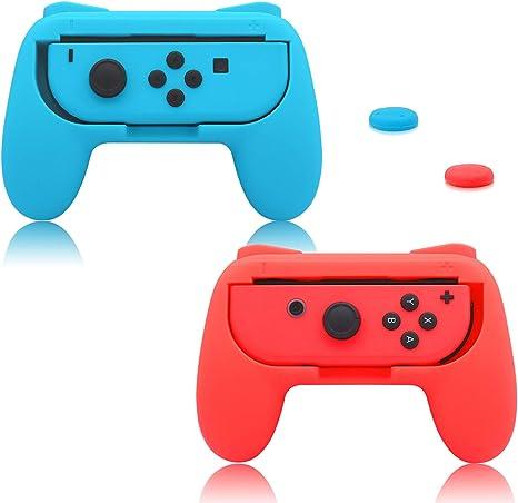 FASTSNAIL Puños para Nintendo Switch Joy-Con, mango resistente al ...