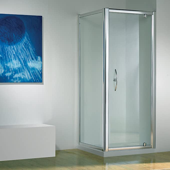 Kudos Original recto Pivot de ducha 760 x 760: Amazon.es: Hogar