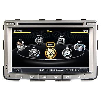 Generic 7 pulgadas S100 A8 circuito integrado para winca Ssangyong Rexton coche de navegación GPS para