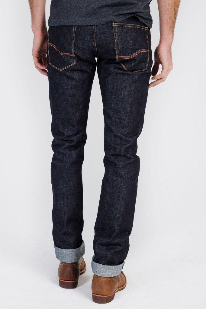 Tobacco Motorwear Indigo Selvedge Protective Kevlar Riding Jeans (40 x 36)