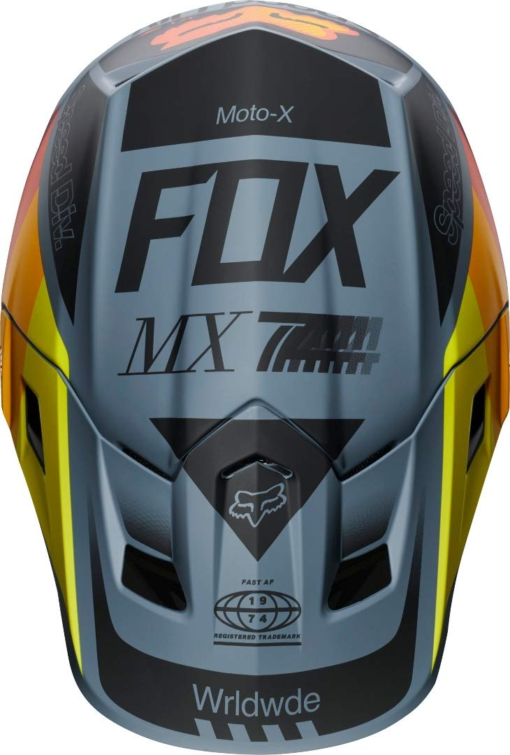 Amazon.es: 2019 Fox Murc V2 - Casco de motocross (talla XL ...