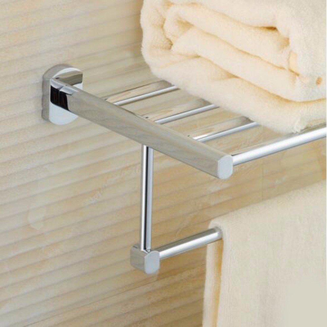 Sursy Todo el cobre toallero double deck, baño, toallas de baño, Baño, Cuarto de baño, cuarto de baño estante colgante de hardware: Amazon.es: Hogar