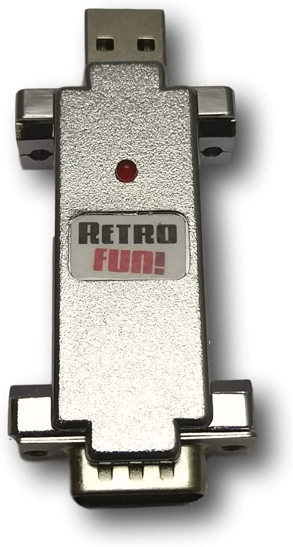 RetroFun! Joystick oder Maus Amiga Atari Commodore auf PC USB: Amazon.de:  Computer & Zubehör