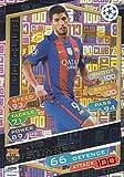 2016/17 MATCH ATTAX CHAMPIONS LEAGUE 100 CLUB LUIS SUAREZ FC.BARCELONA HUNDRED CLUB