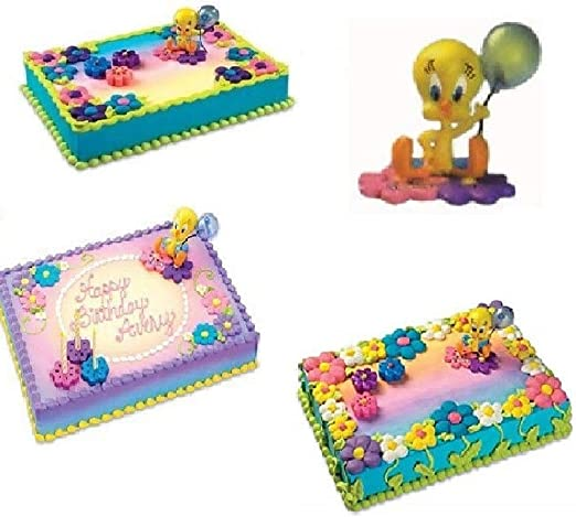 Swell Amazon Com Looney Tunes Tweety Bird Light Up Balloon Cake Topper Funny Birthday Cards Online Kookostrdamsfinfo