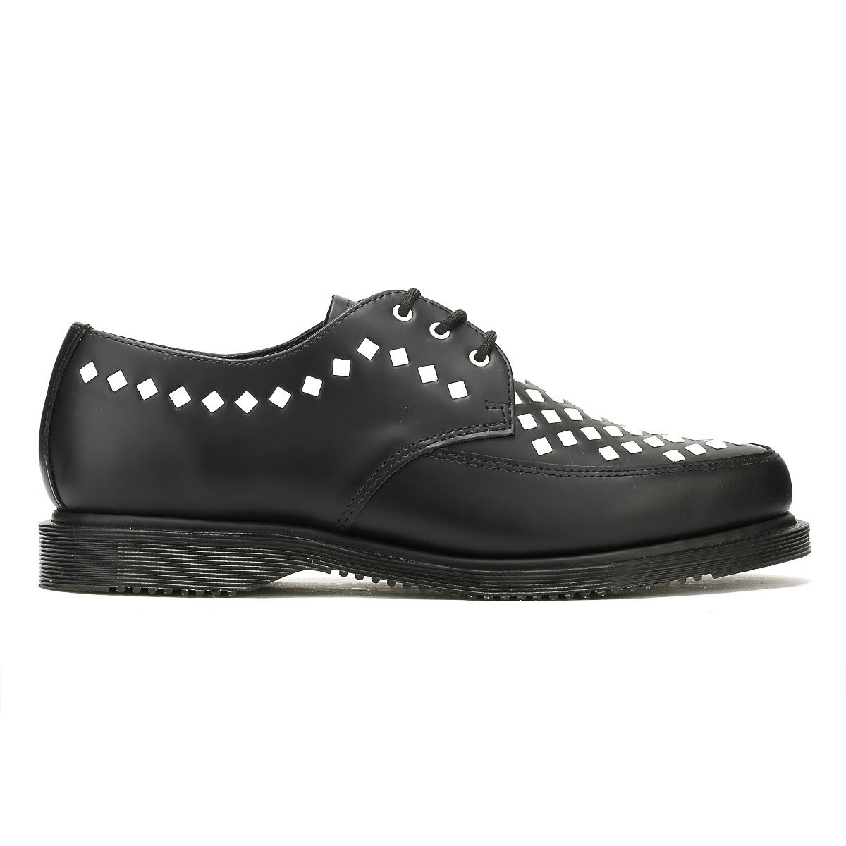 Dr. Martens B071GFR5VZ Unisex Willis Stud Creeper B071GFR5VZ Martens 5 M UK|Black Smooth 951016