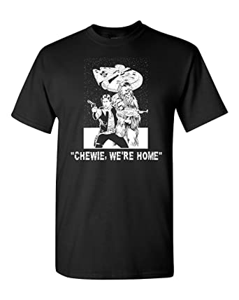 4b0a1ebd Chewie We're Home Star Wars Men's T-Shirt at Amazon Men's Clothing ...