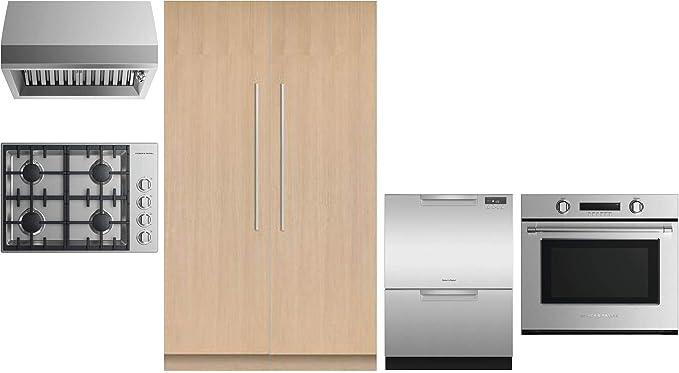 Amazon.com: Fisher Paykel paquete de 6 electrodomésticos de ...
