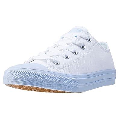 adidas Unisex-Kinder Chuck Taylor All Star II High Basketballschuhe, Blau (Blau/Weiß Blau/Weiß), 31 EU