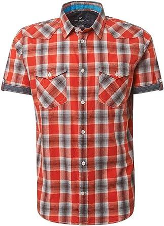 Tom Tailor - Blusas, camisetas y camisas de manga corta para hombre: Amazon.es: Ropa y accesorios