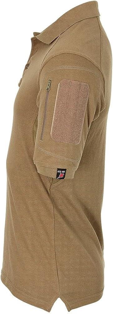 Tactical Poloshirt Alfa Cadet Rank Grade of Service BW Badge Shoulder Flap