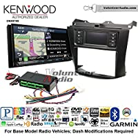 Volunteer Audio Kenwood DNX874S Double Din Radio Install Kit with GPS Navigation Apple CarPlay Android Auto Fits 2003-2007 Honda Accord