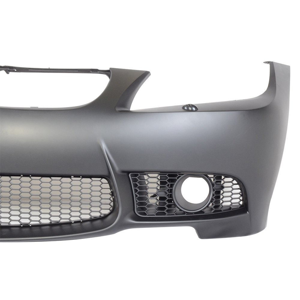 Front Bumper Cover Fits 2006-2008 BMW E90 E91 3-Series Sedan M3 Style Front Bumper Conversion Guard Fog Cover PP by IKON MOTORSPORTS 2007