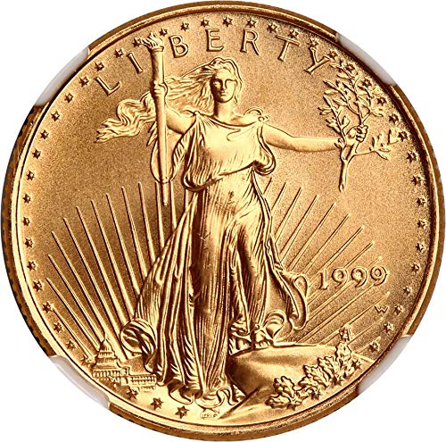 1999 W $10 Gold Eagles Gold Eagle Unfinished Proof Dies Ten Dollar MS69 NGC