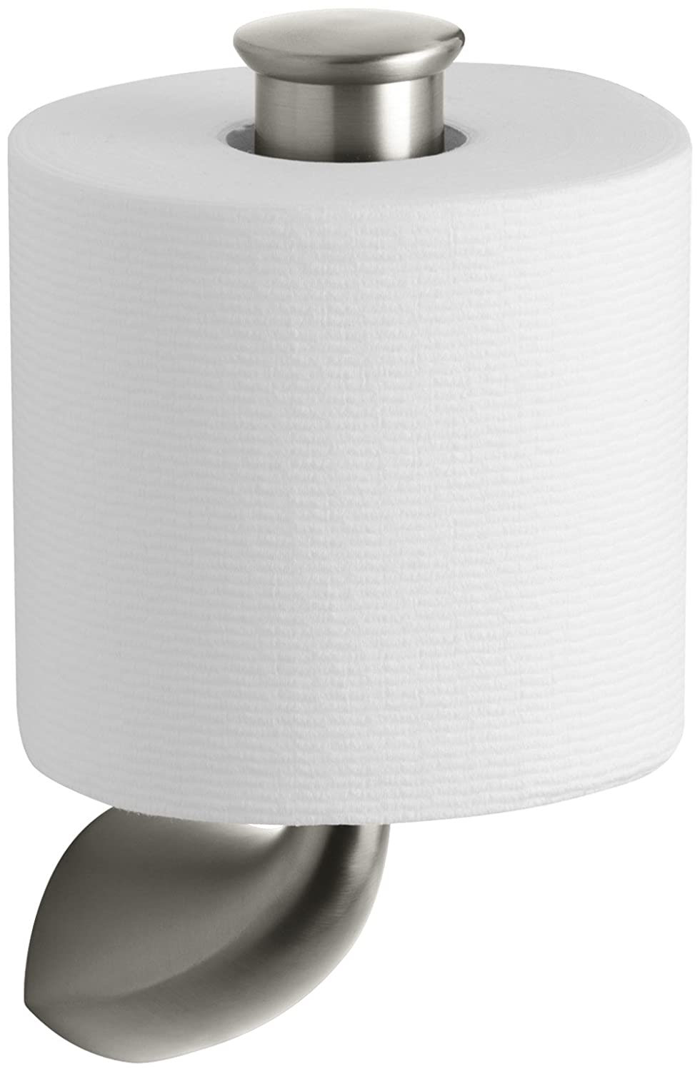 Kohler KBN Alteo Vertical Tissue Holder Vibrant Brushed - Kohler bathroom accessories chrome