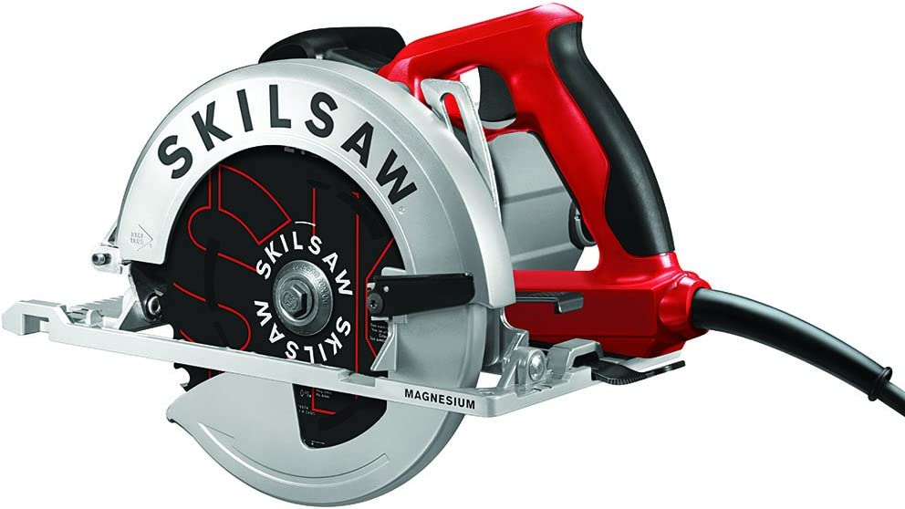 SKILSAW SOUTHPAW SPT67M8-01 15 Amp 7-1 4 In. Magnesium Left Blade Sidewinder Circular Saw