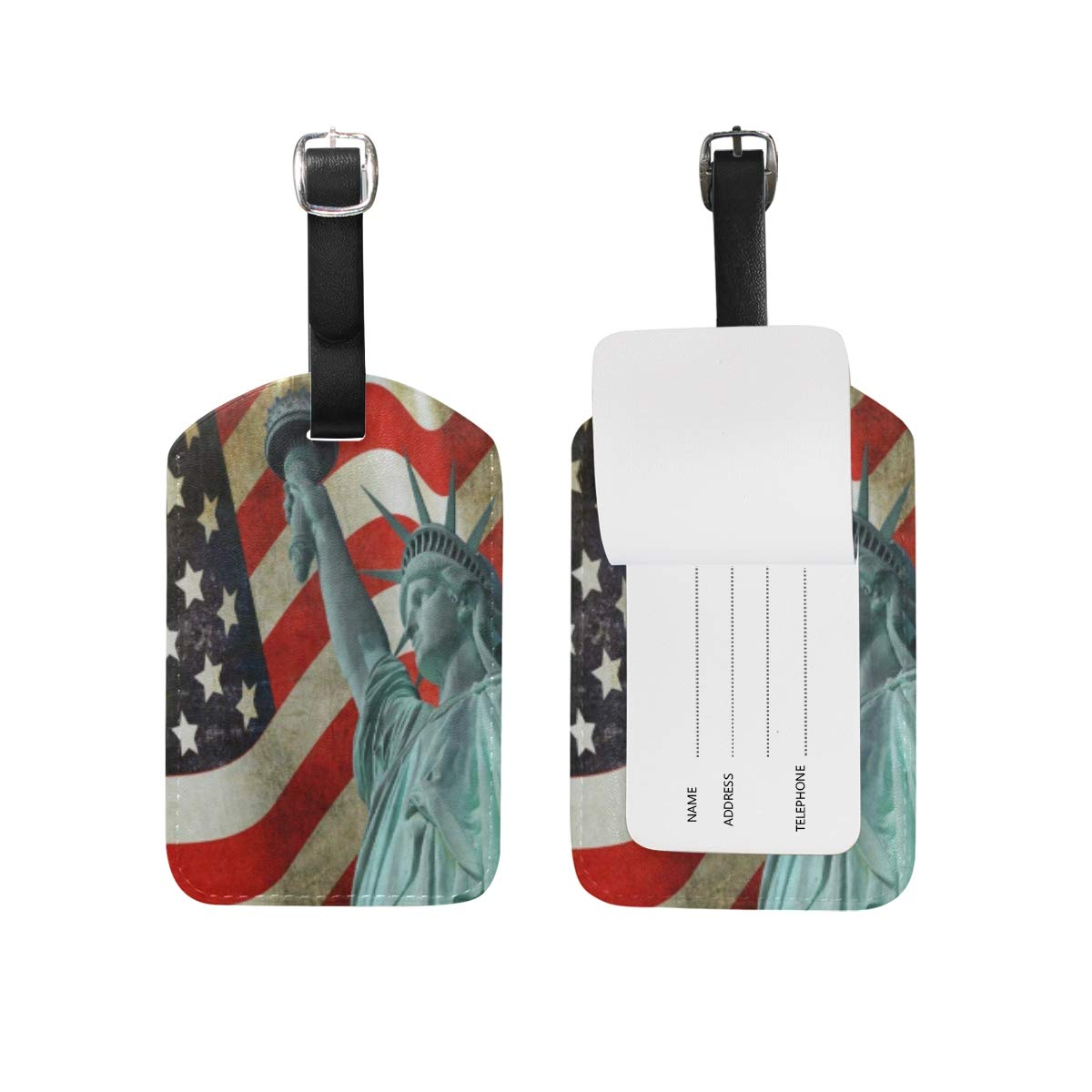 Statue Of Liberty Travel Tags For Travel Tags Accessories 2 Pack Luggage Tags