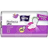 Bella Perfecta Violet Mega Pack - Compresa (4 paquetes de 32 unidades)