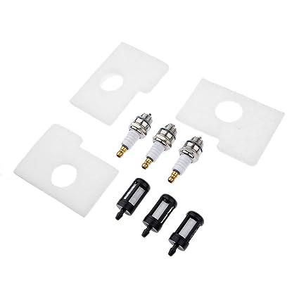 Kit de combustible filtro de aire y bujía para Stihl MS180 MS170 018 017 motosierra