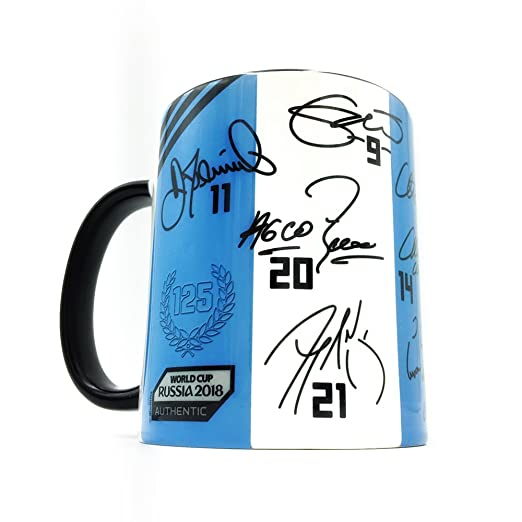 Amazon.com: Gio Gifts Argentina Mug The Road To World Cup 2018 Collectible Souvenir 11 Oz.: Kitchen & Dining