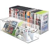 mDesign Porta DVD, CD y videojuegos - Sistema de almacenaje ...