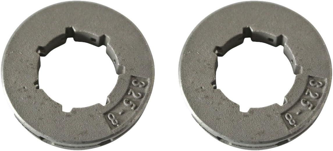 JRL 2 x 325 8 dientes motosierra Power Mate rueda de accionamiento Husqvarna Poulan Jonsered