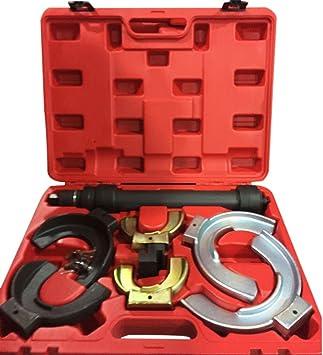 Goplus Macpherson Interchangable Fork Strut Coil Spring Compressor Extractor Tool Set