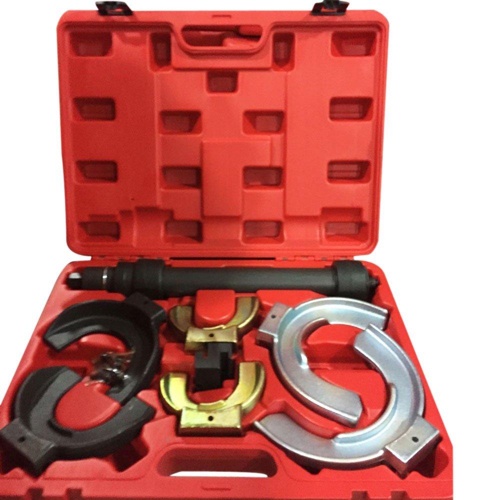 MILLION PARTS Universal Interchangable Fork Strut Coil Clamp Spring Compressor Extractor Tool Set Kit w/Case by MILLION PARTS (Image #1)