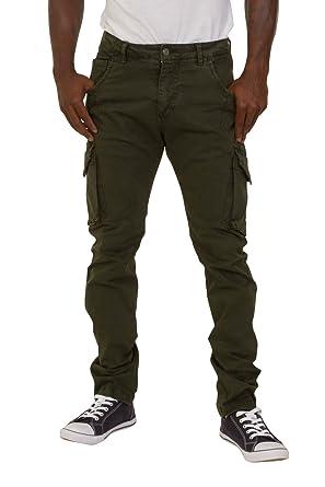 men Green cargo pants