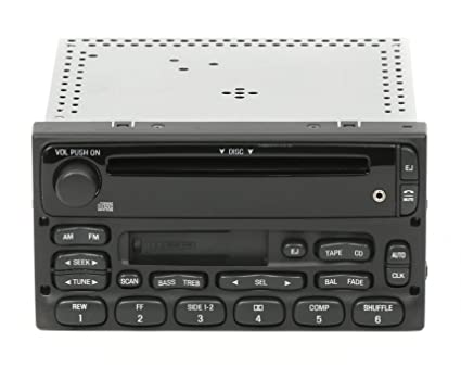 1 Factory Radio AM FM CD Cette Player Compatible With 1999-10 Ford on