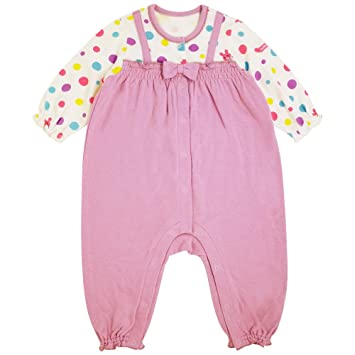 05efa5d4a91b Amazon.com  Mikihouse Hot Biscuits Overalls 70-1204-952 12 Mos(80cm ...