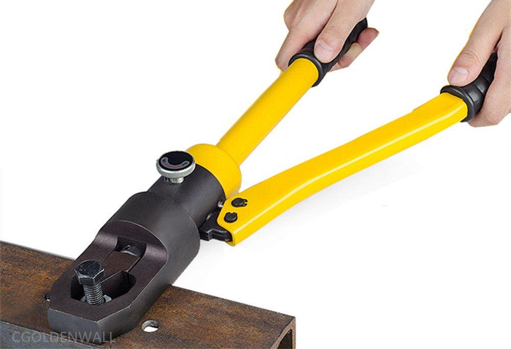 CGOLDENWALL YP-24 Manual Hydraulic Nut Splitter Cut M8-M24 Integral Hydraulic Breakers Hydraulic Scew Cutting Tool Nut Cutter Scew Cutting Tool by CGOLDENWALL
